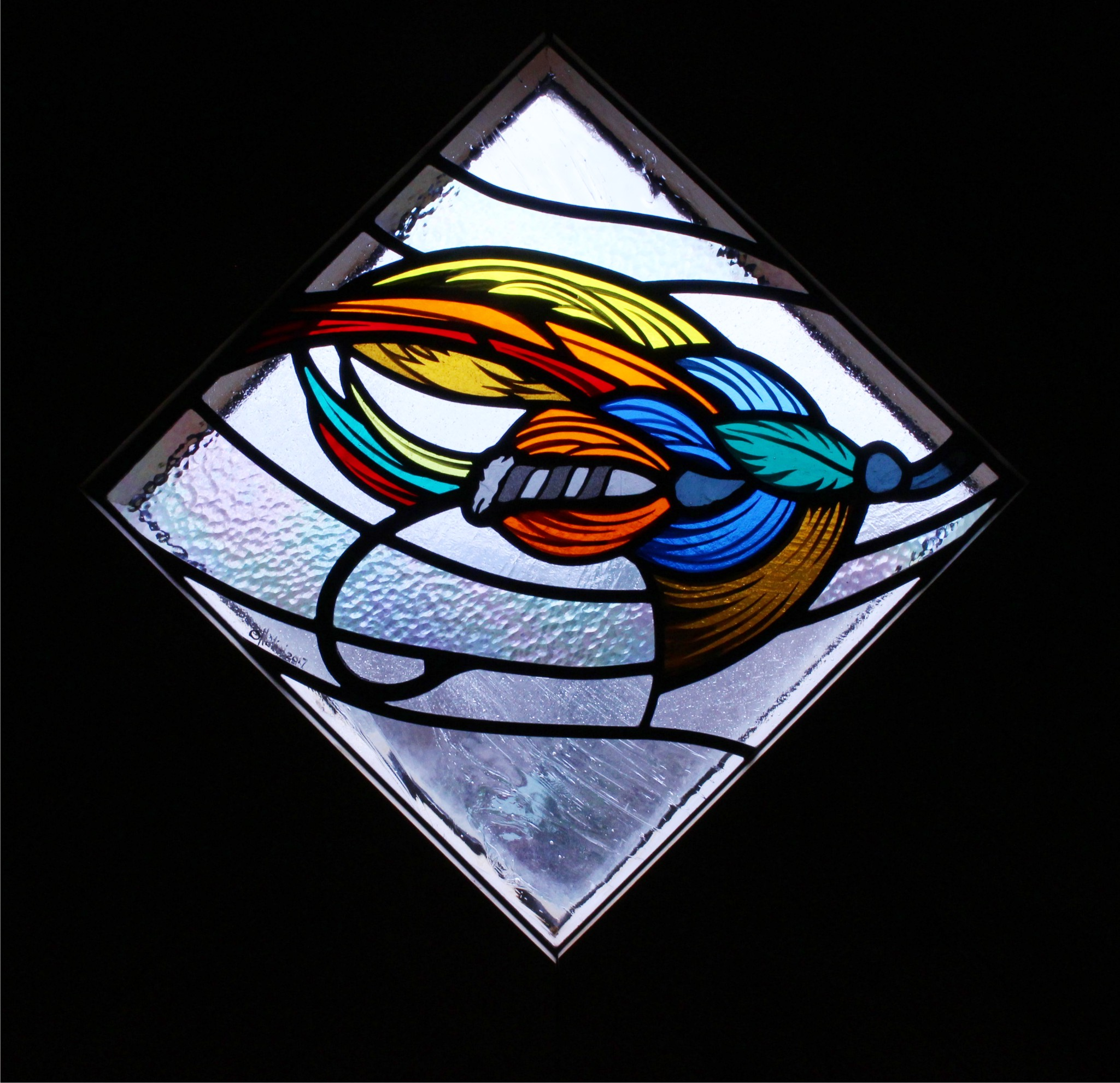 Residential stained glass
