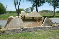 Shaconage subdivision