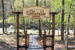 Esmeralda Inn riverside park. Chimney Rock, NC