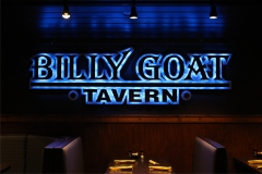 Billy Goat Tavern interior sign. Pigeon Forge, TN.