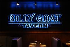 Billy Goat Tavern interior sign. Pigeon Forge, TN.