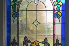 Residential stained glass.